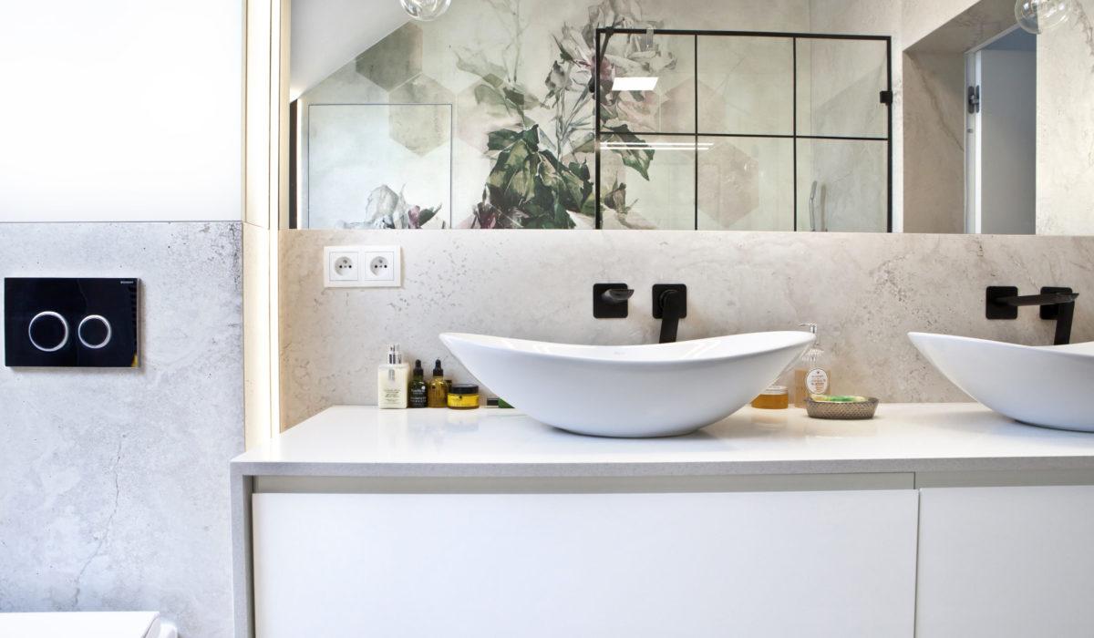 projekt wnętrza łazienki - chata id - projektowanie wnętrz nadarzyn, warszawa, rusiec